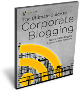 Free Ebook: The Ultimate Guide to Corporate Blogging