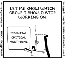 Prioritization Cartoon