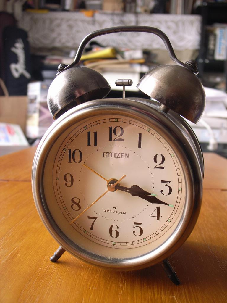 Yuno's alarm clock ? No, it's mine.