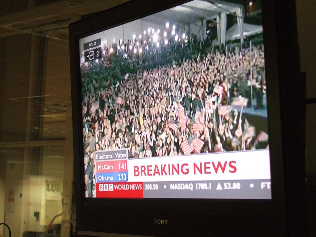 Breaking News: Obama wins
