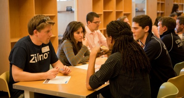 Student speed dating
