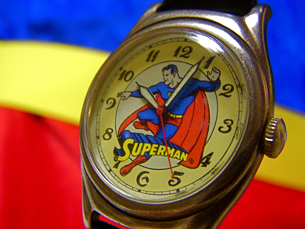 1993 Superman Watch