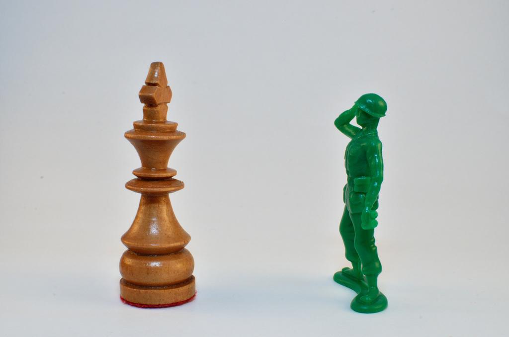 King vs. Army Man
