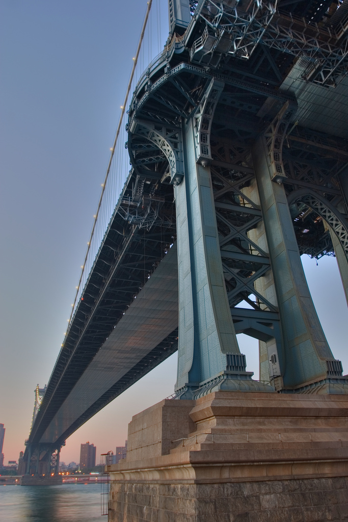 Manhattan Bridge HDR / SML