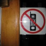 no phones sticker