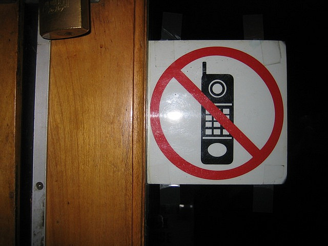 no phones sticker