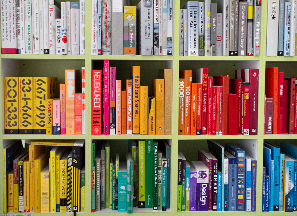 Library of an Interaction Designer (Juhan Sonin) / 20100423.7D.0