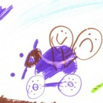 20080606ellie-drawing-fourwheeler-bridge2