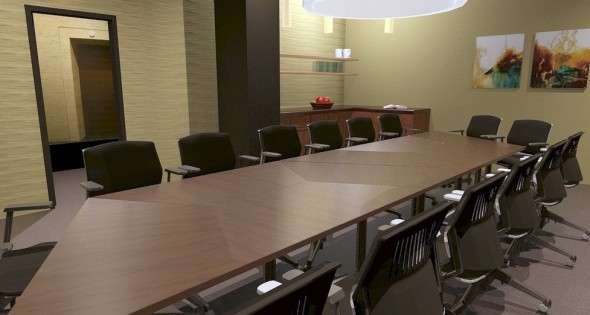 Phillar Bank & Trust--Board Room Perspective