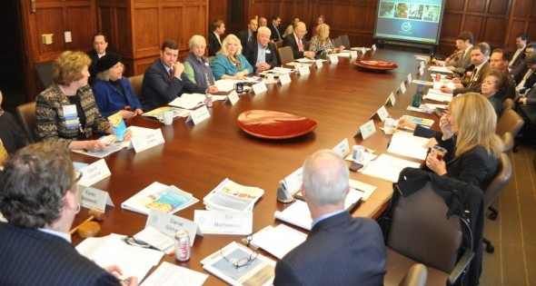 Michigan Municipal League Board Meeting at the Start of the League's 2012 Capital Conference in Lansing