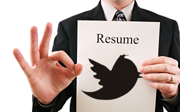 Twesume: Why Not to Submit a 140 Charcter Resume
