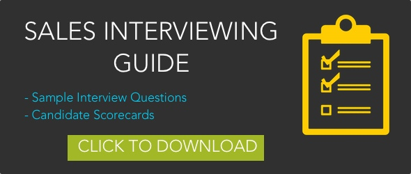Sales Interview Guide CTA