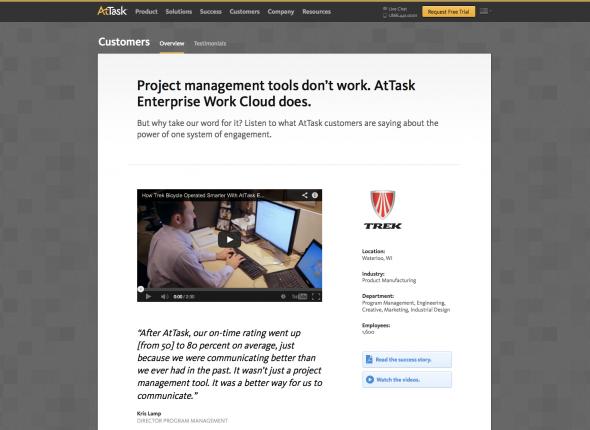 AtTask Customer Success Stories