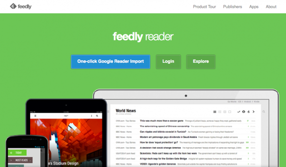 Google Reader Alternatives: Feedly