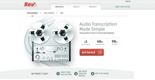 Rev Audio Transcription