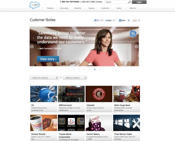 Salesforce.com Customer Success Stories
