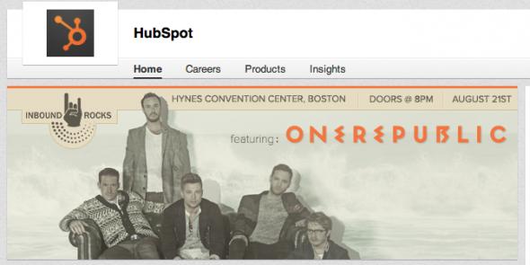 HubSpot LinkedIn Profile