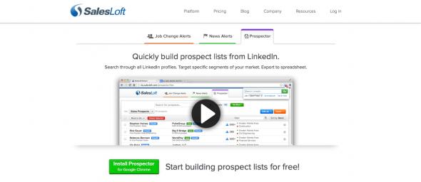 SalesLoft Prospector Tool