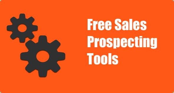 free sales prospecting tools