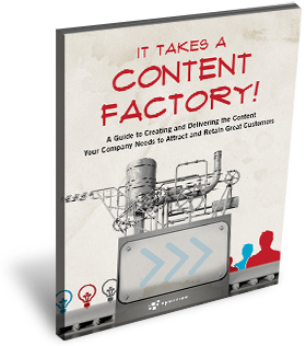 thumbnail of content factory / content marketing eBook