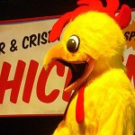 LOST Auction - Mr Cluck's chicken costume