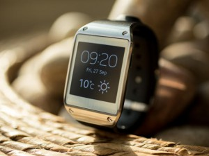 The Samsung Galaxy Gear Smart Watch Source: CNet