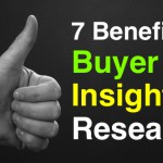 benefits of buyer insights