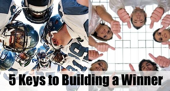 5 Ways to Build Your Company Like a Super Bowl Contender