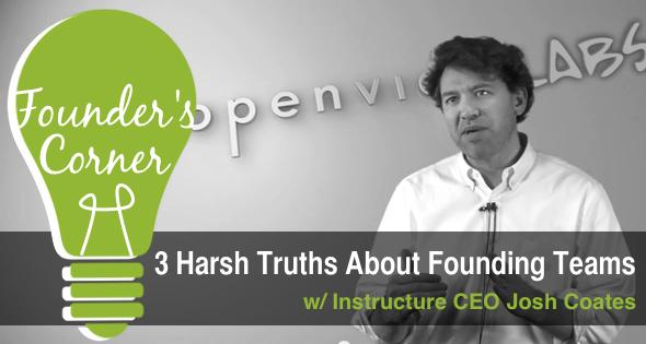 Josh Coates 3 Harsh Truth