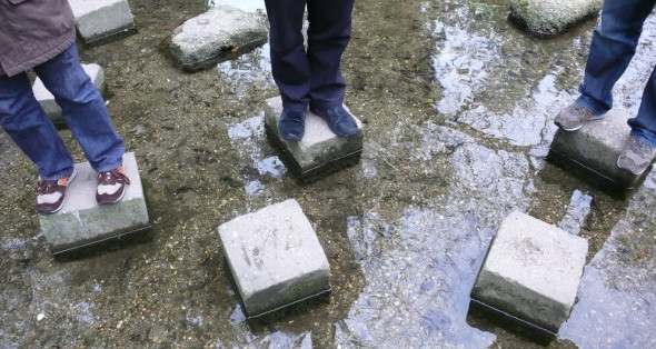 Spring Stepping Stones