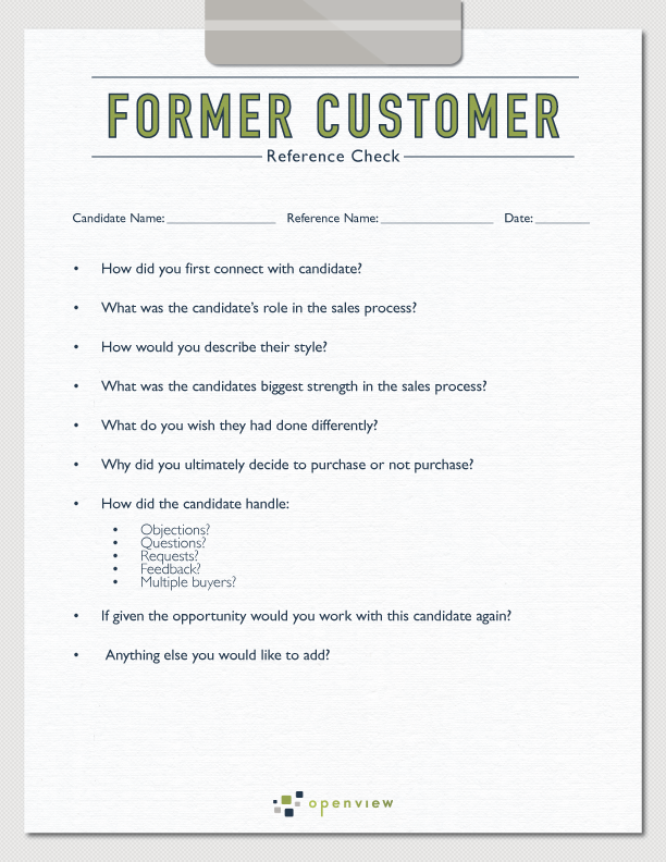 Superb ... Former Customer Reference Template Idea Customer Reference Template