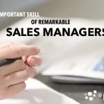 sales manager skills