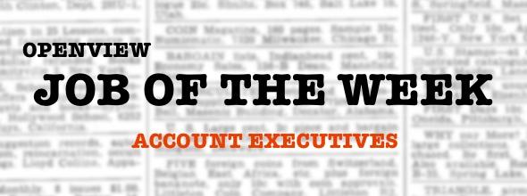 Portfolio Hiring: Account Executives Jobs | OpenView Blog