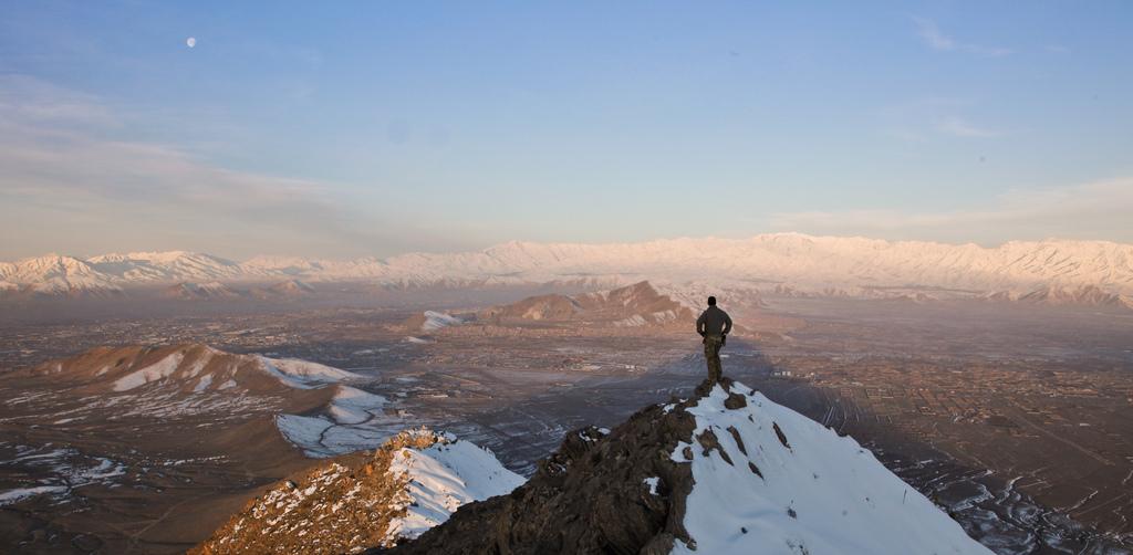 Kabul province mountain