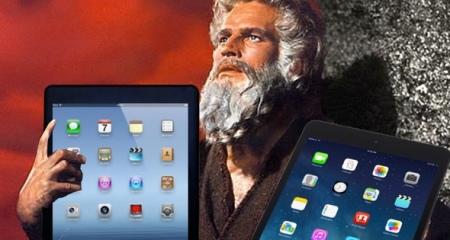 10 commandments on ipad tablets