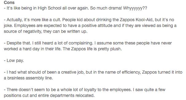 Zappos review 3