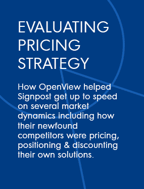 Evaluating Pricing Strategy