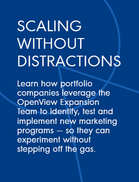 Scaling without Distractions