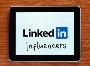 LinkedIn Influencer iPad