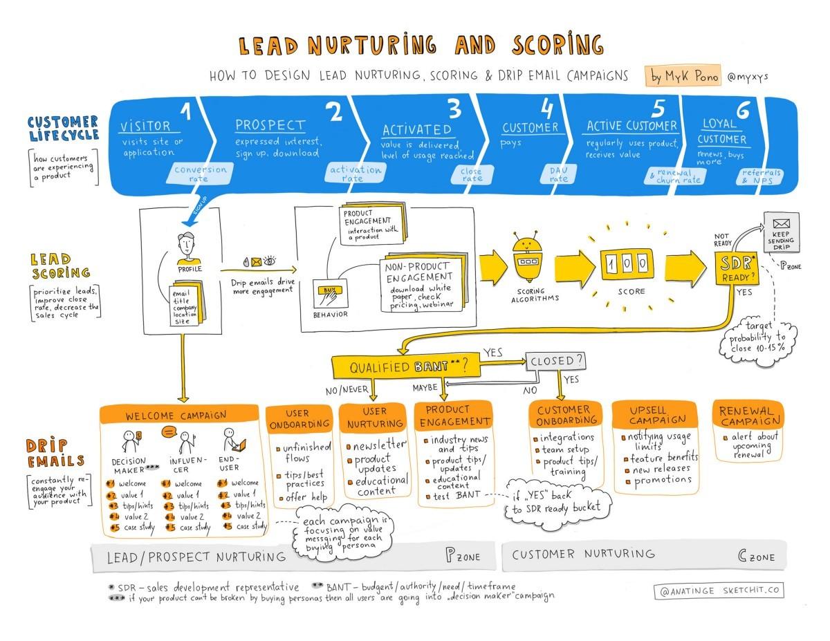 lead nurturing and scoring