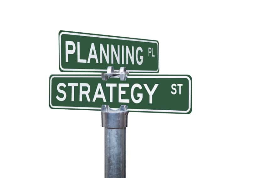 Crossroads of Planning and Strategy