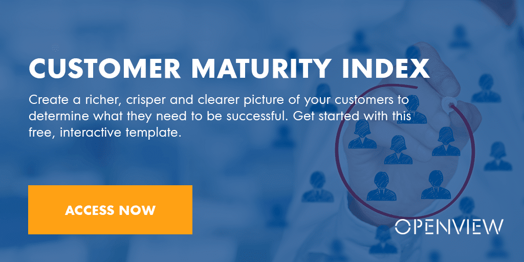 Customer Maturity Index