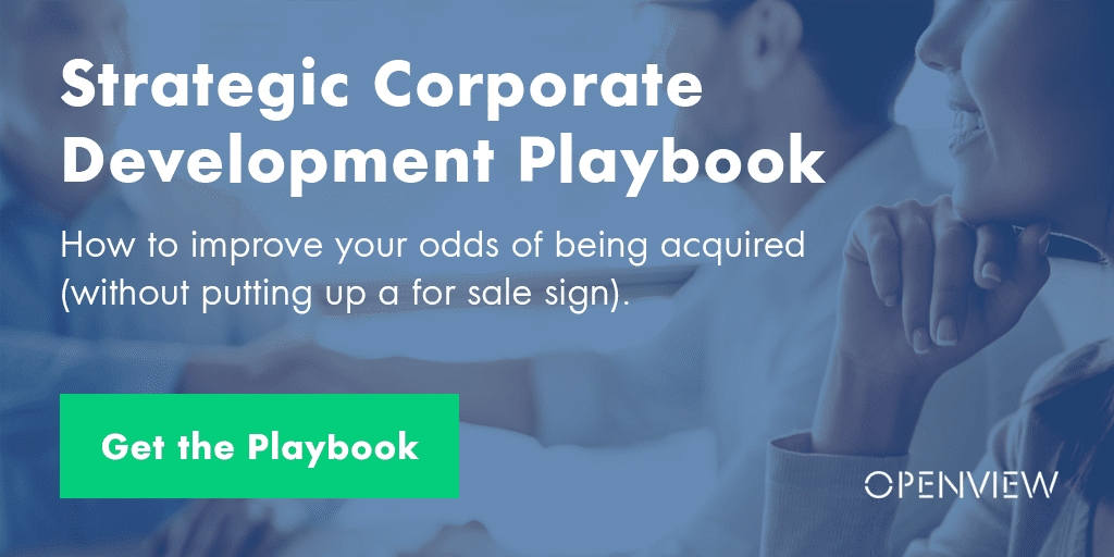 Strategic Corp Dev Playbook: How to Improve Your Odds of Being Acquired