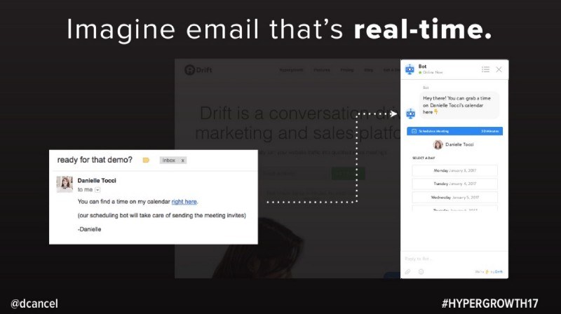 real time email