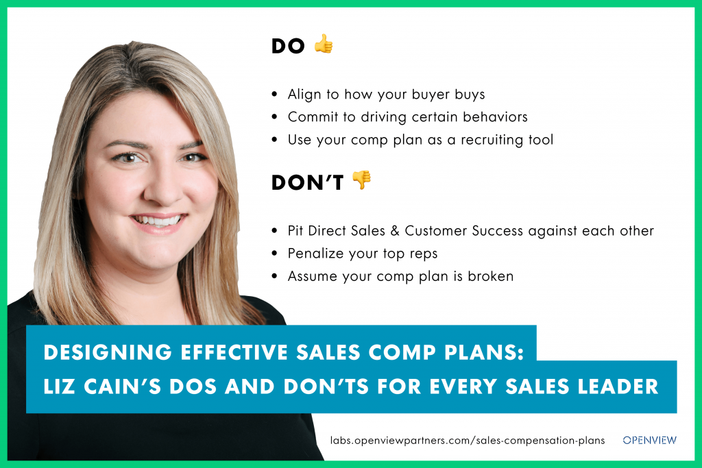 Designing Effective Sales Comp Plans: The Dos and Don'ts for