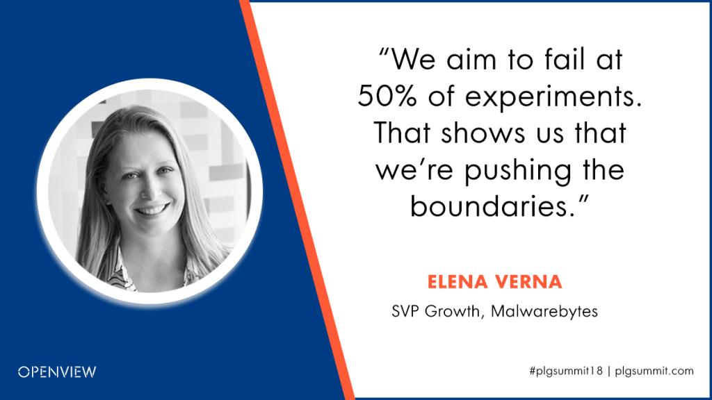 Elena Verna PLG Quote