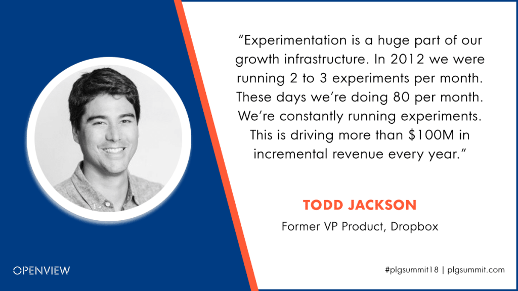 Todd Jackson PLG Quote