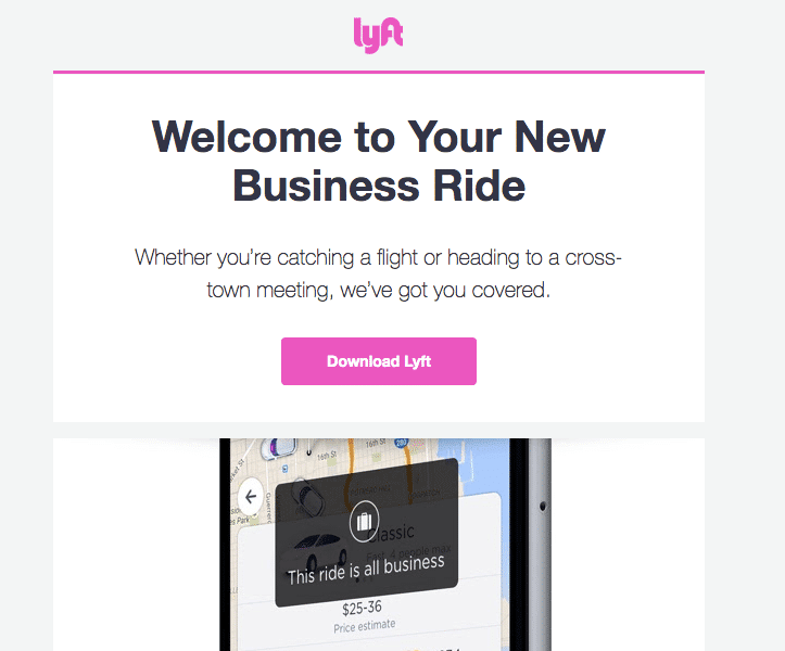 Lyft for Business 1