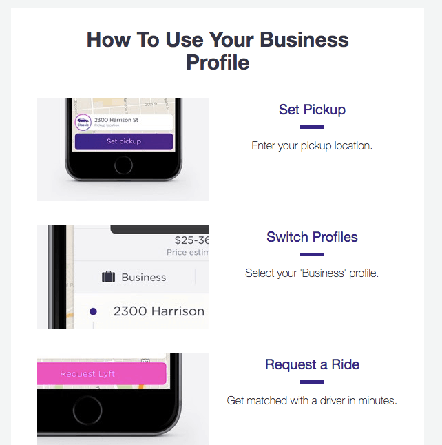 Lyft for Business 2