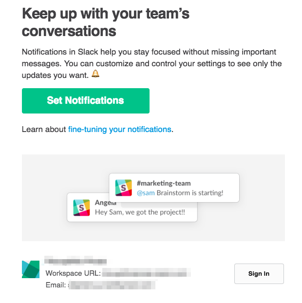 Slack for teams